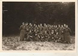 Photo Militaire : Armée Allemande :   Groupe De Soldats à WERMUNDE - Format 6,4cm X 9cm - Voir Au Dos - War, Military