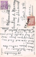 CHIFFRE TAXE - FRANC PERCEVOIR ON A POSTCARD OF SWITZERLAND #95006 - Postage Due