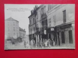 Carte Postale  - CREIL (60) - Maisons Incendiées Par Les Allemands - Rue De La République (3186) - Creil