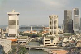 Postcard Singapore New Otani Hotel River Valley Road On Bank Of Singapore River My Ref  B23696 - Singapore