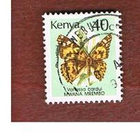 KENYA  -  SG 436  -   1988  BUTTERFLIES:  PAINTED LADY -  USED° - Kenya (1963-...)