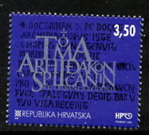 CROATIA 2000 Archdeacon Thomas, MNH / **.  Michel 554 - Croatie