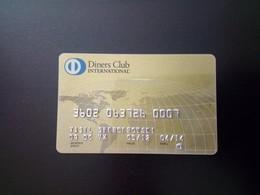 Diners Club International - Credit Card Used - Cartes De Crédit (expiration Min. 10 Ans)