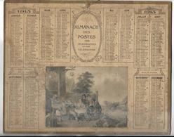 CALENDRIER De 1913 - Format 26.5 X 21 Cm - 2 Feuillets Au Verso De La Gironde - Grand Format : 1901-20