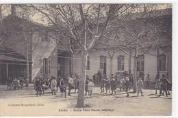 Algérie - Saïda - Ecole Félix Faure, Intérieur - Saïda