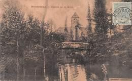 MOORSEELE - GEZICHT OP DE KERK ~ AN OLD POSTCARD #95008 - Belgium
