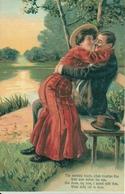 Coppia Di Innamorati, Riproduzione Da Orig., Reproduction, Illustrazione, (E48) - Coppie