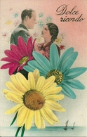 """Coppia Di Innamorati, """"Dolce Ricordo"""" Riproduzione Da Orig., Reproduction, Illustrazione, (E50) - Coppie"""