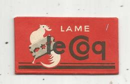 Lame De Rasoir ,  LE COQ ,  Extra Douce,  2 Scans - Lames De Rasoir