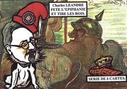 CPM Epiphanie Galette Gateau Des Rois Fève Satirique Tirage Limité En 5 Exemplaires Léandre Kaiser - Felicitaciones (Fiestas)