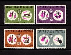KENYA  UGANDA  TANZANIA    1968    20th  Anniv  Of  WHO     Set  Of  4    MNH - Kenya, Uganda & Tanganyika