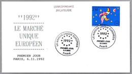 MERCADO COMUN EUROPEO - SINGLE EUROPEAN MARKET. SPD/FDC Paris 1992 - Instituciones Europeas