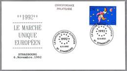 MERCADO COMUN EUROPEO - SINGLE EUROPEAN MARKET. SPD/FDC Strasbourg 1992 - Instituciones Europeas