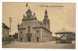 Zele  Voorzicht Der Kerk  KIOSK  KIOSQUE - Zele