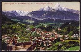 Alte Color/Mehrfarbige Ansichtskarte Um 1900 Berchtesgarden Mit Watzmann,Schönfeldspitze Postalisch Nicht Gelaufen579580 - Rothenburg O. D. Tauber