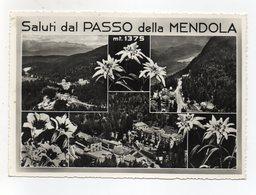 Passo Della Mendola (Trento) - Saluti Da - Cartolina Multipanoramica - Viaggiata Nel 1957 ? - (FDC16575) - Trento