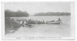Congo Les Rapides De L' Eléphant Aux Hautes Eaux - Congo - Kinshasa (ex Zaire)