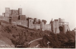 AL73 Dover Castle, Keep And Constable's Tower From W - Dover