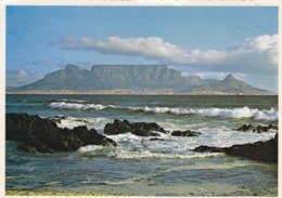 AN38 Cape Town, Table Mountain From Bouberg Strand - South Africa