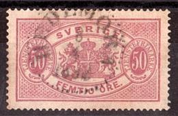 Suède - 1881/96 - Timbre De Service N° 10 - Dentelé 13 - Service