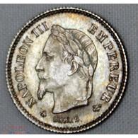 Napoléon III - 20 Centimes 1867 BB - Francia