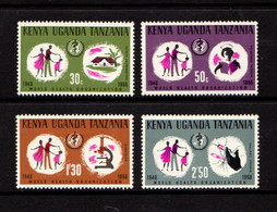 KENYA  UGANDA  TANZANIA    1968    20th  Anniv  Of  WHO     Set  Of  4    MH - Kenya, Uganda & Tanganyika