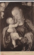 AS81 Religious Art Postcard - Madonna By Lucas Cranach - Paintings, Stained Glasses & Statues