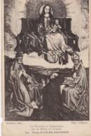 AS81 Religious Art Postcard - La Vierge Au Donateur - Paintings, Stained Glasses & Statues