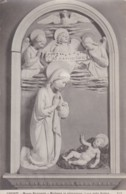 AS81 Religious Art Postcard - Madonna In Adorazione By Luca Della Robbia - Paintings, Stained Glasses & Statues
