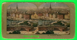 CARTES  STÉRÉOSCOPIQUES - VIEW OF STOCKHOLM, SWEDEN - No 38 - - Stereoskopie