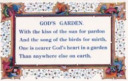 AS81 Religious - God's Garden - Christianity