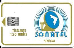 CARTE-PUCE-SENEGAL-120U-SC4-SONATEL-V°9N°RGE N°C31141012 -UTILISE-TBE - Sénégal