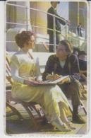 Titanic - 1997 - Kate Winslet - Leonardo Dicaprio - Billy Zane - Collection Card - 78/49 Mm - Cinema & TV