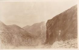 AS81 RPPC - Mountains, Gorge - Photographs