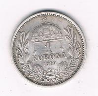 1 KORONA 1893 OOSTENRIJK /6174/ - Autriche
