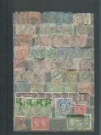 Grande Bretagne, Irlande, Allemagne. Lot Oblitéré, Timbres Tous états Sur 10 Pages - Collezioni (in Album)