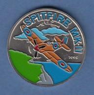 Republik Kongo 1995 Gedenkmünze Flugzeug JUNKERS JU-52 Coloriert Cu/Ni - Münzen