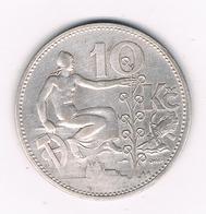 1 KORUN 1930  TSJECHOSLOWAKIJE /6175/ - Tschechoslowakei