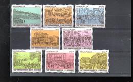 RWANDA 958/965** SUR LES 150 ANS DE L INDEPENDANCE DE LA BELGIQUE - Rwanda