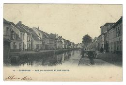 Termonde  Dendermonde Rue Du Rempart Et Rue Neuve - Dendermonde