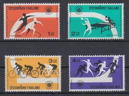 Thailand 1975 Südostasiatische Sportspiele, Bangkok Satz Mi.-Nr. 793-96 ** / MNH - Thailand
