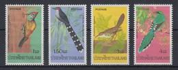 Thailand 1976 Einheimische Vögel Satz Mi.-Nr. 805-08 **/ MNH - Thailand