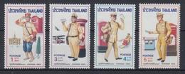 Thailand 1976 Briefträger-Uniformen Satz Mi.-Nr. 813-16 **/ MNH - Thailand