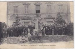 Côte-d'Or - Beurizot - Inauguration D'un Monument - France