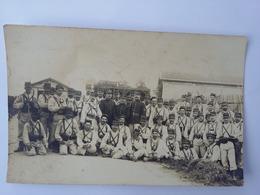 CPA 1912 Photo Groupe De Militaires 144 ème Régiment - Regimientos
