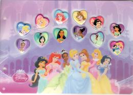 Pins-bd-disney_série Carrefour_album Complet - 121 Pins - Disney