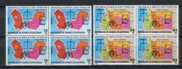 Guinea Ecuatorial 1984. Edifil 51-52 X 4 ** MNH. - Äquatorial-Guinea