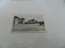Cp   Mazagan  Place  Lyautey   - Poste  Et  Compagnie  Algérienne - Marokko