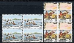 Guinea Ecuatorial 1984. Edifil 53-54 X 4 ** MNH. - Äquatorial-Guinea