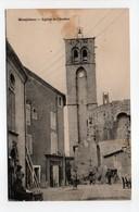 - CPA MONTBLANC (34) - Eglise Et Clocher 1927 (avec Personnages) - - Autres Communes
